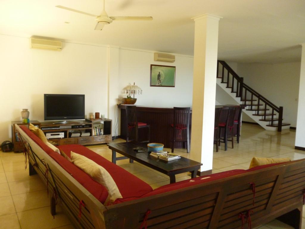 Jimbaran Ruang Tamu Sewa Villa Di Bali